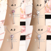 2017 Fashion Jewelry S925 Sterling Silver Adjustable Finished Bracelet Fit Woman Gifts For Girls