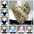 Зима тёплый шарф глушитель шарф мех воротник для женщины и леди 2 шт. / много