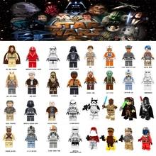 Para Star Wars legoing Tusken AT-AT Motorista Rey San Jar Jar binks Tekka Modelos de Blocos de Construção Tijolos brinquedos Figuras starwars