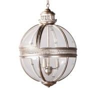 Vintage Globe Pendant Lights Loft Lamp Iron Glass Shade Round Lamp Kitchen Dinning Bar Table Luminaire Fixture Hanging Lamps