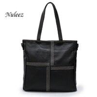 Women Handbag Genuine Leather Tote Bag Trend 2017 Ladies Shoulder Bag Causal Bag Natural Leather Bag
