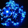 Cherry Peach Blossom Flower LED Solar Fariy String Light 7M 50LED Outdoor Party Christmas New Year