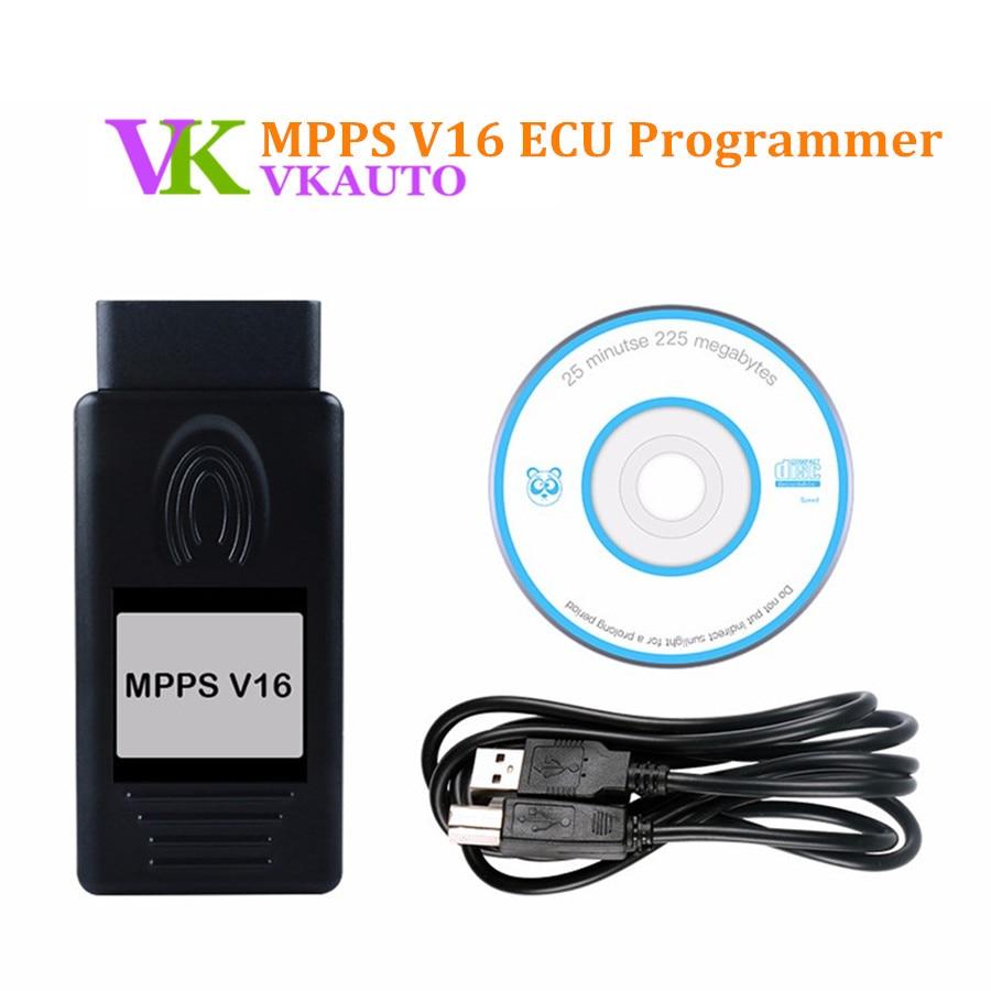 2019 Mpps V16 Ecu Programming Tool  For Edc15 Edc16 Edc17 Inkl Checksum Read And Write Memory Hot Sale