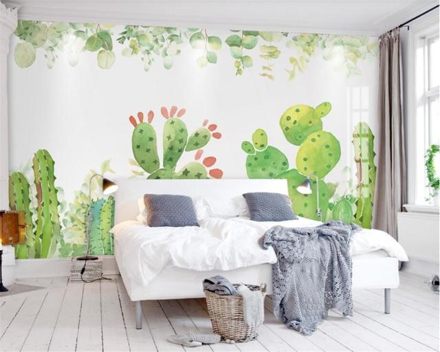 Beibehang su misura della parete carta da parati soggiorno for Murales per camera da letto