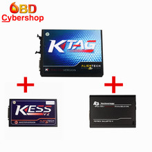 V2.10 KTAG K-TAG ECU Master Version Plus KESS V2 V2.15 OBD2 Tuning Kit No Token Limitation Plus V54 FGTech Galletto 4 Master