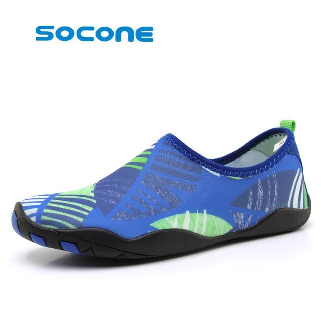 3355c669f5ff Summer men s skate shoes diving swim sports shoes