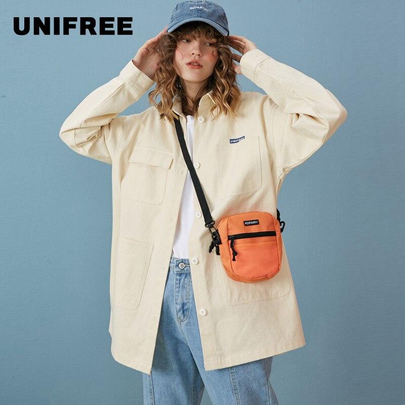 Unifree2019automne nouveauté chemise veste femmes lâche printemps et automne section longue section mince chemise de style coréen UHC191B001
