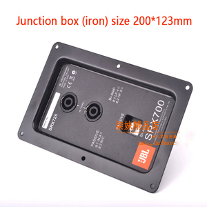 JBL speaker wiring back panel Professional stage speaker junction box connector Double 4 core ohm head to send stickers 8(China)