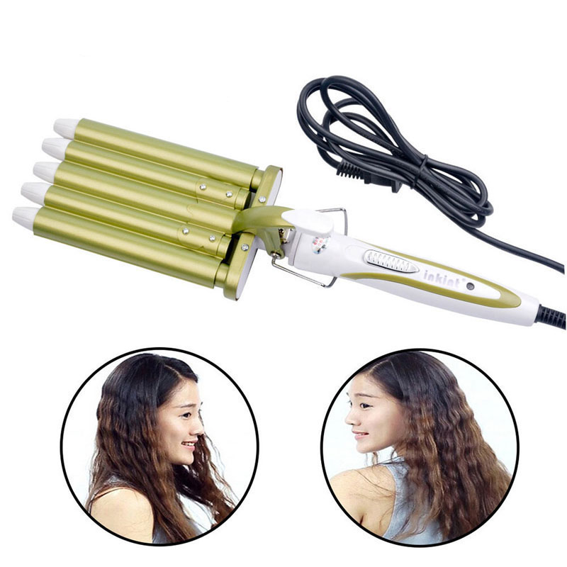 Professional Hair Care Styling Tools Curling Hair Curler Wave Hairstyler Curling Irons Crimper Krultang Iron kemei straight curly hair stick 2in1 and does not damage the hair clip hair tools anion in maize curling irons styling tools