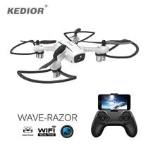 2017 New Mini RC Quadcopter RTF Remote Control Micro Drone with Camera WiFi FPV 720P HD VS Hubsan X4 H107C Plus Upgrade H107C+