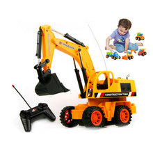 25cm 1PCS Full Functional Excavator Electric Rc Remote Control Construction Toy