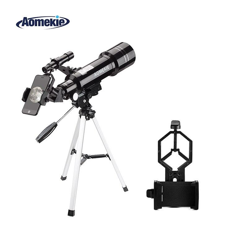 Aomekie 40070 astronômico telescópio com tripé compacto