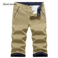 Men S Cotton Shorts Men Summer Style Breathable Clothing Sweat Large Size Fat Guy Five Cents