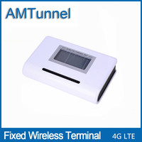 4G LTE Fixed Wireless Terminal 2600Mhz LTE FWT With LCD Display For Connecting Desktop Phone To