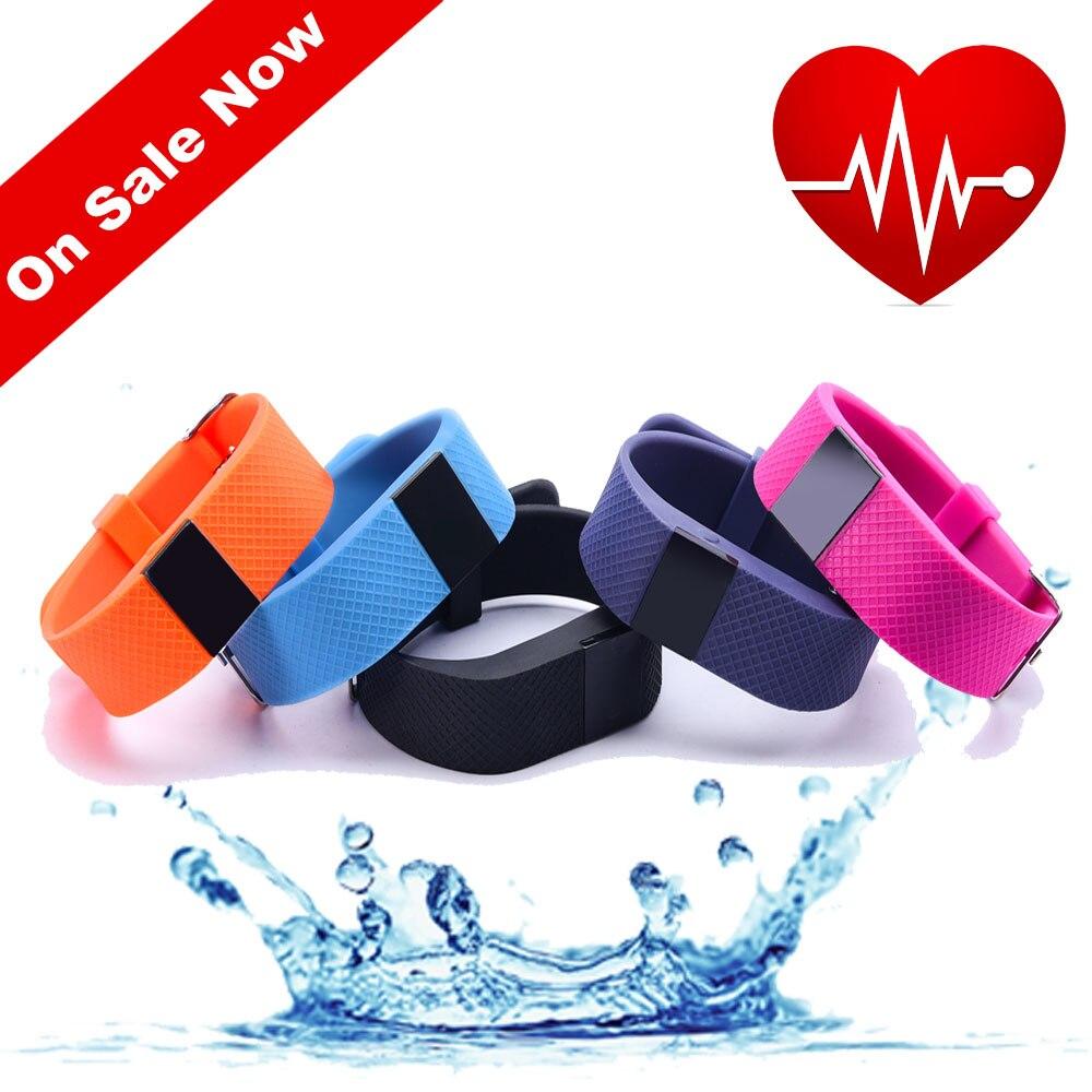 New font b Smart b font bracelet TW64s font b Smart b font band heart rate