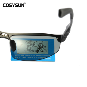Image 3 - Мужские солнцезащитные очки для вождения COSYSUN, поляризационные очки с фотохромными линзами, алюминиевые спортивные очки, прозрачные очки Хамелеон CS121