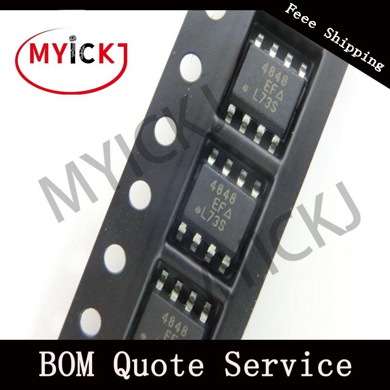 10pcs SI4848DY IC CHIP  MOSFET N-CH 150V 2.7A 8-SOIC   4848
