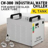 VEVOR CW-3000 Termólise Industrial Refrigerador Chiller Água para CNC/Máquinas de Gravação A Laser Gravadora 60 w/80 w