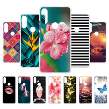 Custom Soft Painted Case For Wiko View 2 Pro View2 Cases Silicone Back Cover Fundas Coque Housings
