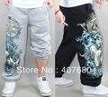 2013 hombres recién llegado de moda casual de algodón sueltos hiphop pantalones sport skate más el tamaño