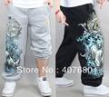 2013 new arrival men's fashion casual loose cotton hiphop pants sport skateboard pants plus size.