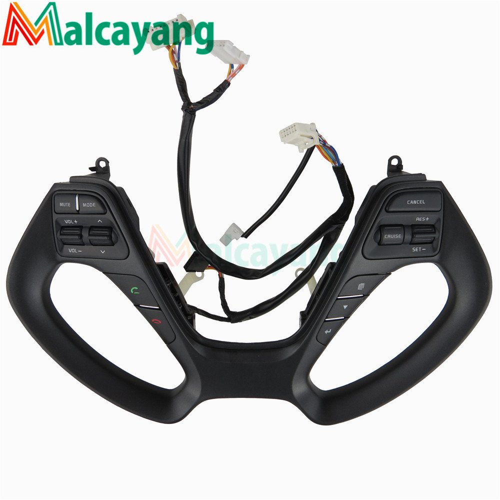 Multifunction steering wheel buttons Cruise buttons For Kia FORTE CERATO K3 K3S Car 2014 2016 With