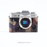 Cam в LCP 007 ручной Итальянский воловьей кожи Камера защитный чехол только для Fujifilm X T20 защитный рукав Smart Корпус
