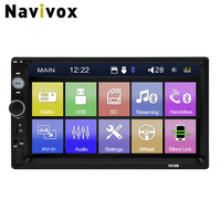 Navivox Car Multimedia Player 7 inch Bluetooth FM Radio Car MP4 MP5 Player Touch Screen Auto Audio Stereo FM/MP5/USB