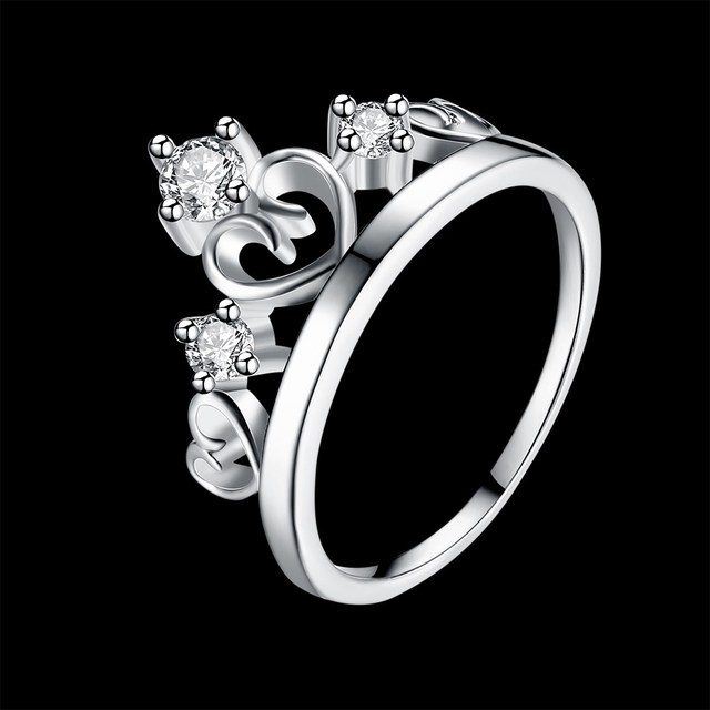 Kiteal Princess Crown Rings For Women 3