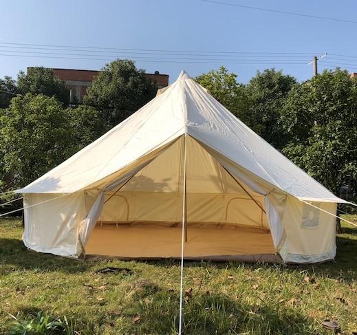 Бесплатная доставка открытый Оксфорд круглая холщовая палатка, палатки кемпинга, Брезентовая палатка