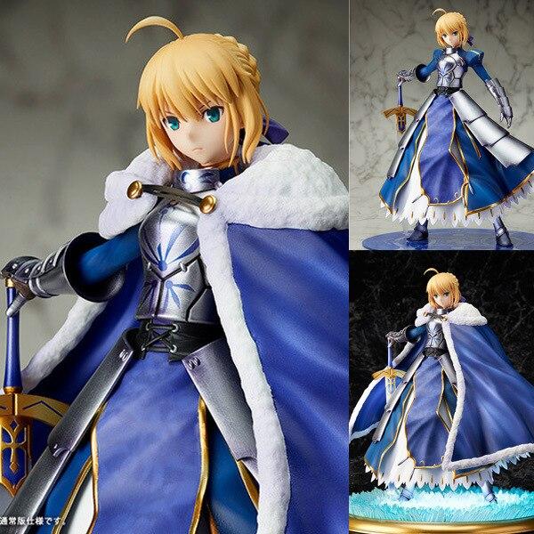 Nuovo Arrivo 1 pz 25 CM pvc figure anime Fate/Grand Ordine SABER cavaliere ver action figure da collezione modello giocattoli brinquedos