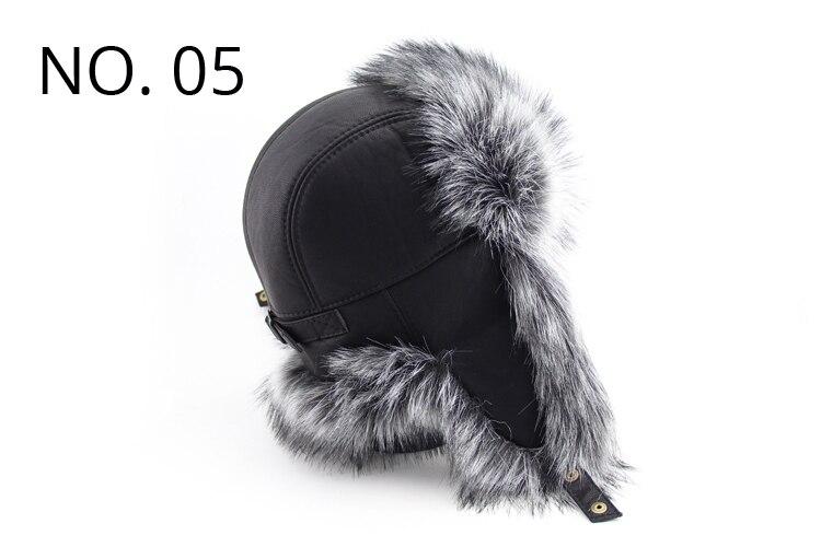 BFDADI 2018 nuevos hombres de invierno cálido chaqueta sombreros ruso de  cazador de Aviador soldado del sombrero del deporte al aire libre sombrero  envío ... 48545a2701c7