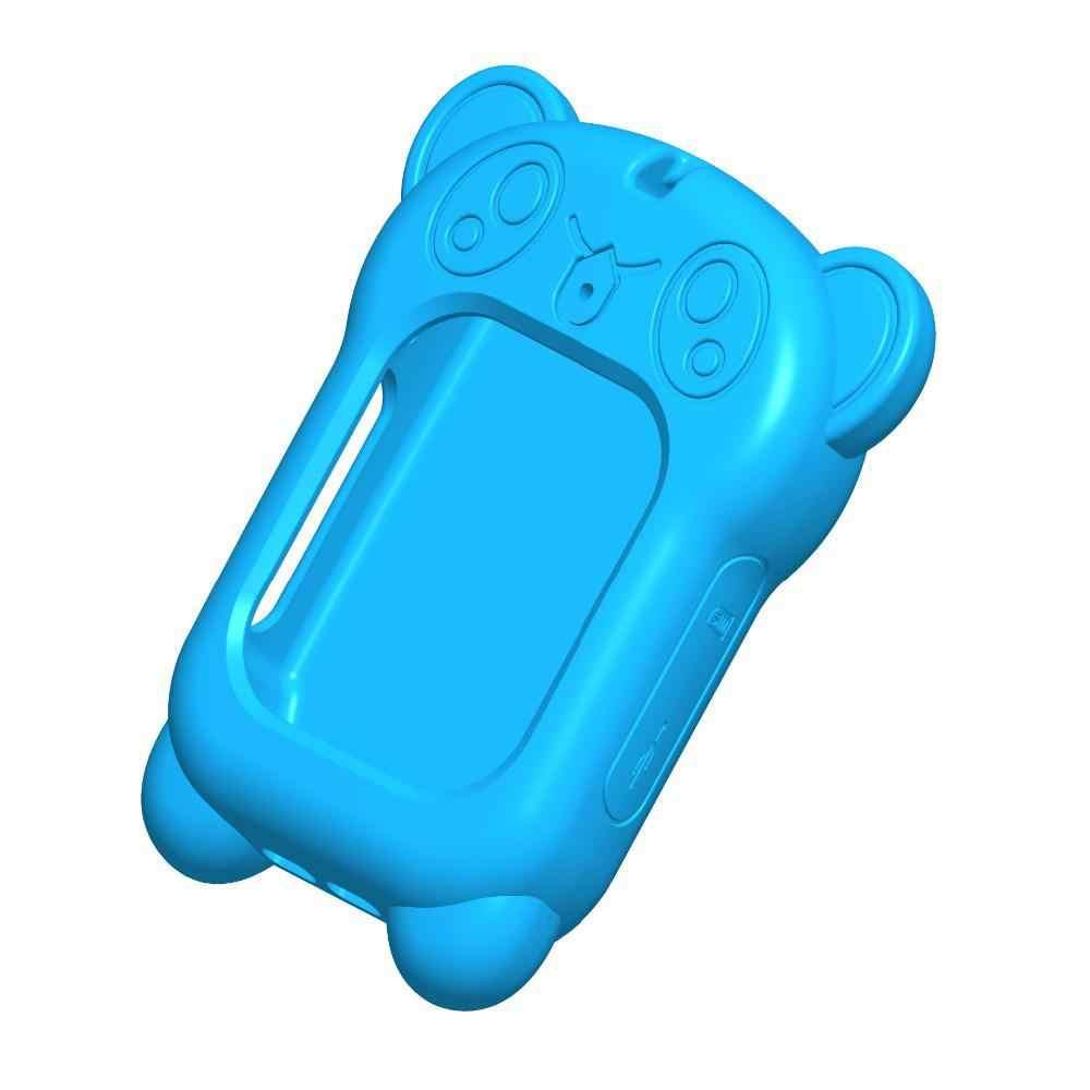 Di động Thông Minh dành cho Q90 DF25 Q80 Q528 Lưng với Sling Gấu Trúc Dễ Thương Chống mất Đồng Hồ Bảo Vệ ốp lưng dành cho Kid Cho Bé R20