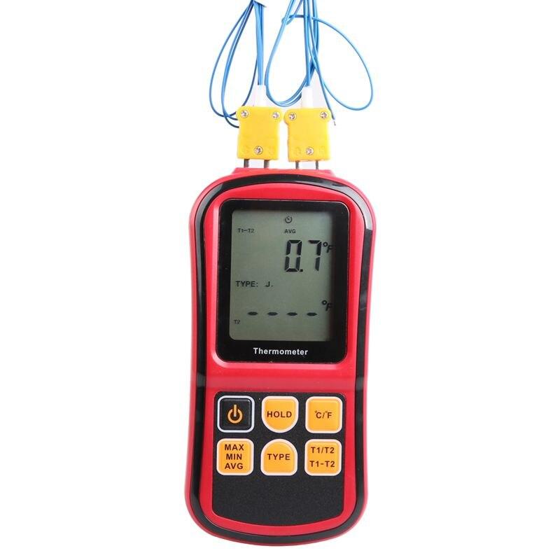 Termômetro termopar-50 ~ 300 Graus de Temperatura Industrial Medidor de Temperatura Termopar Tipo J K N T E R S testador GM1312