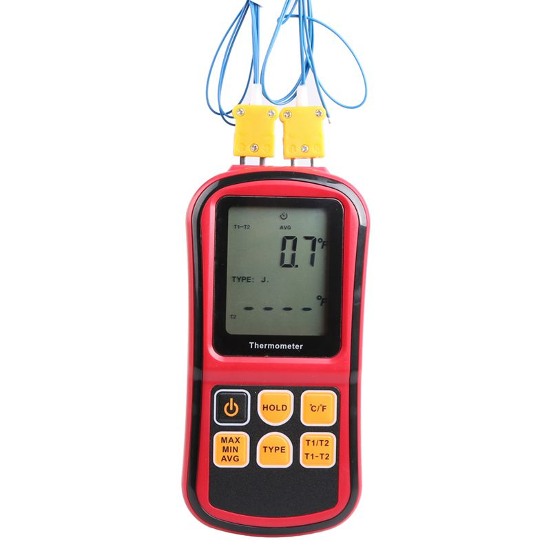 Thermocouple Thermometer -50~300 Degree Industrial Temperature Meter J K T E N R S Type Thermocouple Temperature Tester GM1312