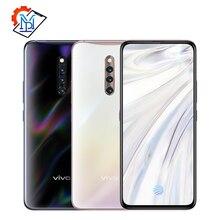 Оригинальный Vivo X27 Pro Экран мобильный телефон с определением отпечатка пальца 6,7 inch 8 ГБ + 256 ГБ Snapdragon 710 Octa Core Android 9,0 48.0MP смартфон