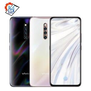 Original Vivo X27 Pro pantalla huella dactilar teléfono móvil 6,7 pulgadas 8GB + 256GB Snapdragon 710 Octa Core Android 9,0 48.0MP Smartphone