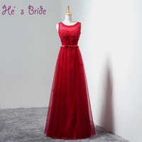 8 Colors Customized Sexy Cheap Prom Dresses With Appliques Lace Pearls Floor Length Evening Party Gowns