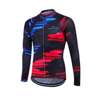 Mem Cycling Jerseys Bora Cycling 2017 MTB Bike Race Wear Long Sleeve Mens Sport Shirt Breathable