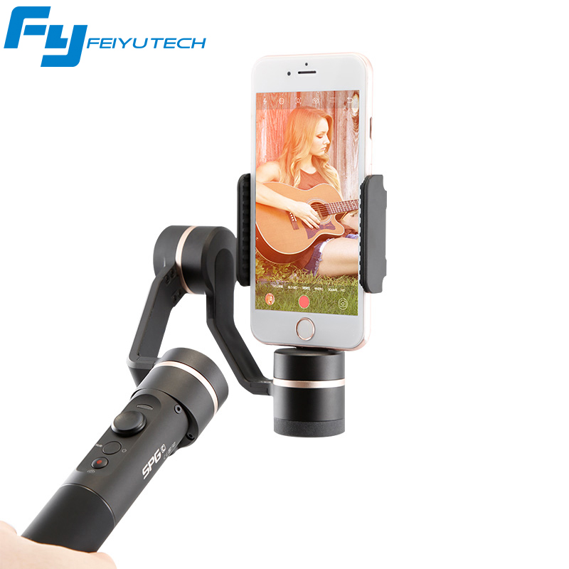 FeiyuTech FY SPG C 3-Axis Handheld Gimbal Stabilizer for Smartphone iphone HUAWEI Zoom Button Professional Selfie Stick удлинитель zoom ecm 3