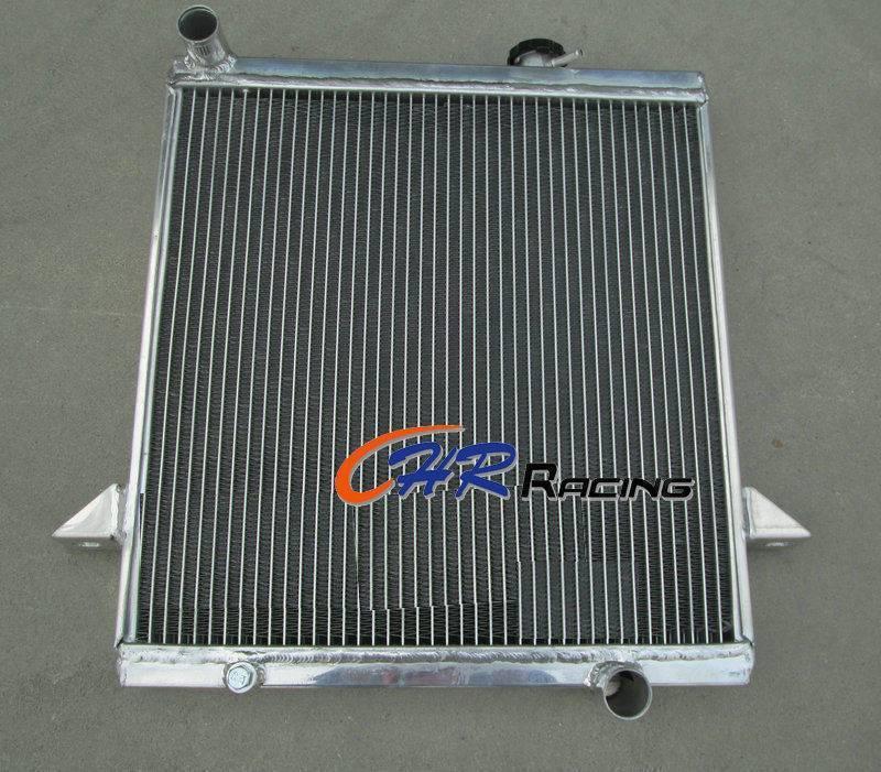 Aluminum Radiator For Triumph TR6 roadster 2.5L 1969-1974 Triumph TR250 67 68