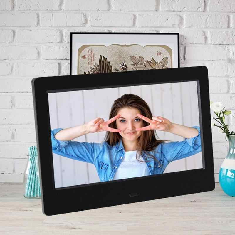 7 inch LED 800x480 Digital Photo Frame Alarm Clock MP3 MP4 Movie Player