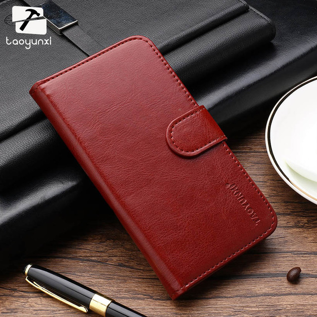 TAOYUNXI For Phone Cases Covers ZTE Blade GF3 T320 Flip Wallet Case ZTE Blade GF3 T320 PU Leather Card Holders