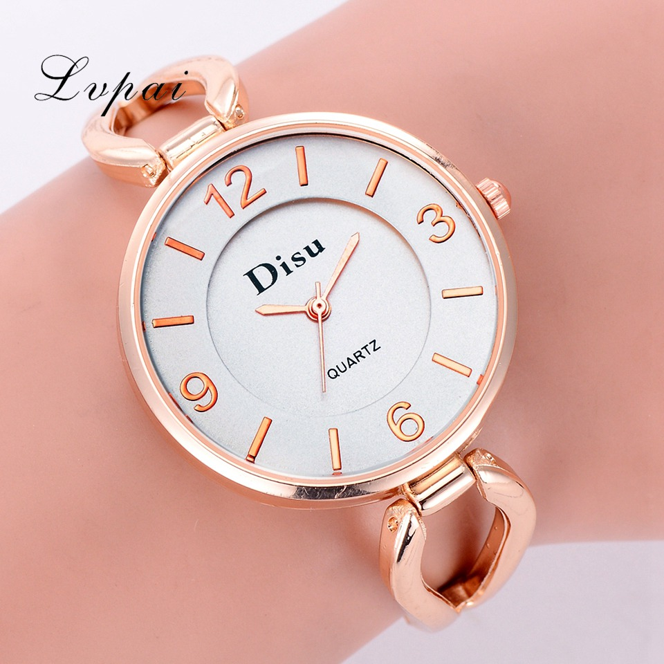 Disu Brand Women Watch Luxury Gold Skeleton Band Bracelet Dress Wrist Watch Fashion Big Dial Simple Ladies Gift Creative WatchesDisu Brand Women Watch Luxury Gold Skeleton Band Bracelet Dress Wrist Watch Fashion Big Dial Simple Ladies Gift Creative Watches
