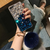 For Xiaomi 5 5s Plus 5X 6 Max MIX 2 Note 3 Crystal Diamond Rhinestone Soft