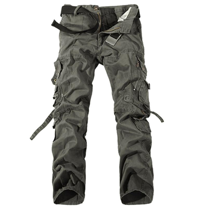 Νέο 2017 ανδρών φορτίου παντελόνι - Ανδρικός ρουχισμός - Φωτογραφία 3