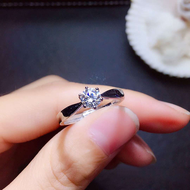 Rind, Sterling, Engagement, Diamond, Wedding, Prong