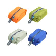 4 Colors Portable Women Travel Cosmetic Pouch Makeup Tote Bag Travel Kits Wash Storage Bag Toiletries Laundry Shoe Waterproof travel portable waterproof shoe tote pouch foldable shoe bag multifunctional travel bag for tableware food sundry underwear 163