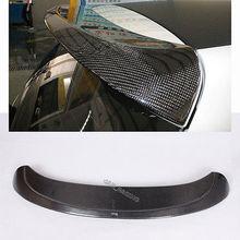 MK6 A Style Carbon Fiber Rear Roof Spoiler Wing Lip Fit For VW Golf 6 VI MK6 2010-2013