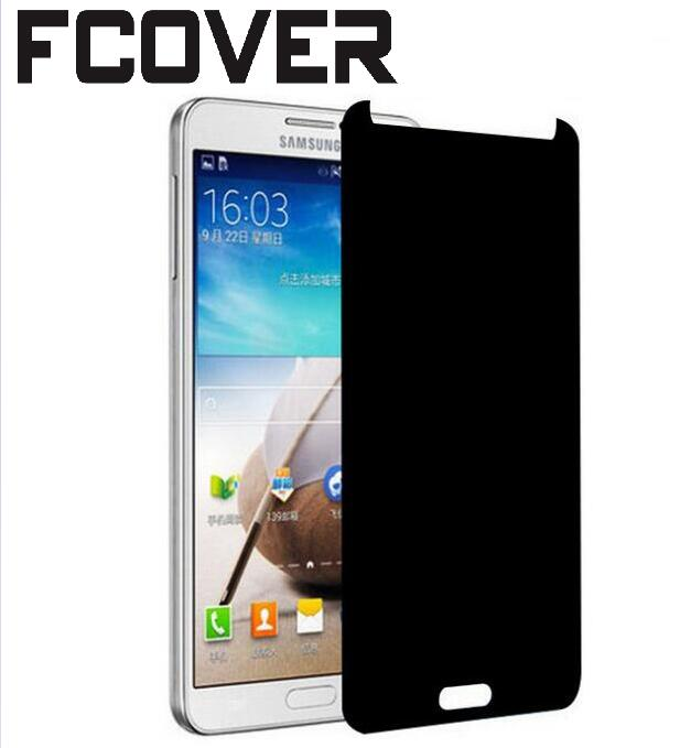 For Samsung Galaxy A8 2018 & Galaxy A8 PLUS 2018 Anti Spy Tempered Glass Front Film Privacy Screen Protector